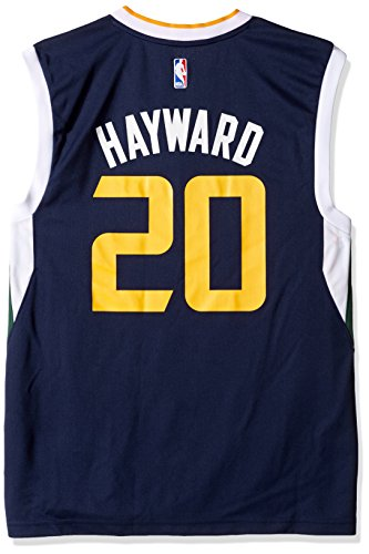 Jersey Utah (NBA Men's Utah Jazz Gordon Hayward Replica Player Road Jersey, 3X-Large, Navy)