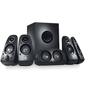 logitech z506 surround sound home theater speaker system external tv speakers amazoncom logitech z906 surround sound speakers
