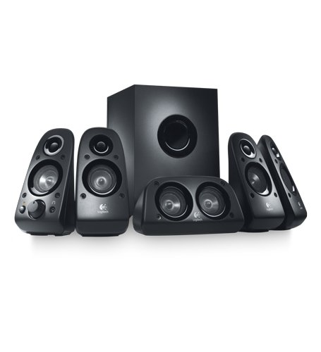 Amazon.com: Logitech Z506 Surround Sound Home Theater Speaker System, External TV Speakers: Electronics