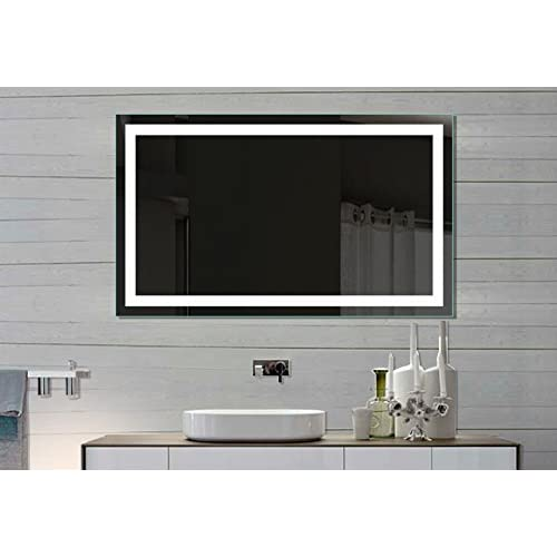 delicate Lighted Mirror Harmony 40 X 24 In by IB MIRROR