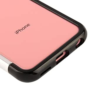 JUJEO Color Gem Lucent Jelly Case for iPhone 5C - Non-Retail Packaging - Black
