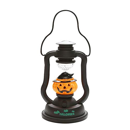 Sujing Halloween Candle Horror Party Prop Decoration Lamp Horrible Music Sounds Light Halloween Light (A) -