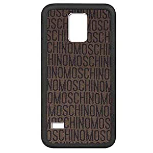 Phone Acccessory Samsung Galaxy S5 Mini Case Funda Moschino Brand Logo Ultrathin Design Stylish Fine Cover