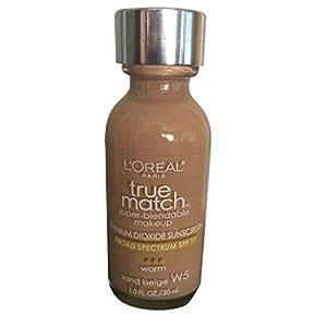 Loreal Foundation-True Match Super Blendable Makeup Foundation-Sand beige