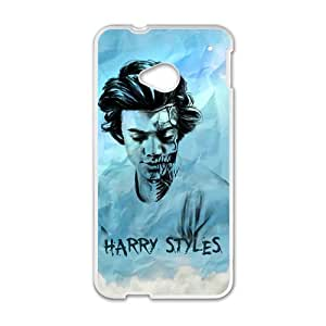 Happy Harry Styles Cell Phone Case for HTC One M7