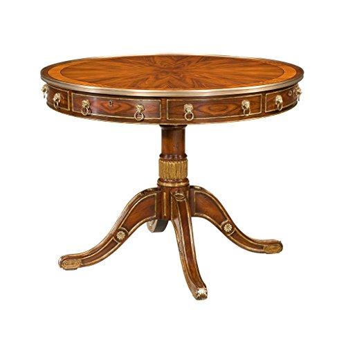 (EGA Regency Rosewood Drum Table)