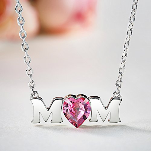SILYHEART Gift For Mom Necklace Mothers Day Jewelry Gifts Birthday
