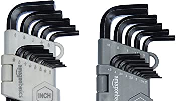Amazonbasics Hex Key Allen Wrench Set With Ball End - 26-piece 3
