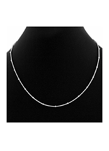 578d518e522f2 ELOISH Pure 925 Sterling Silver Sleek Thin Chain For Women
