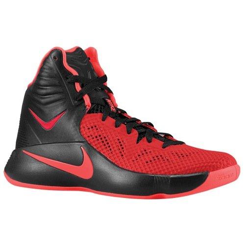super popular 70002 e9b61 Galleon - NIKE Men s Zoom Hyperfuse 2014 Basketball Shoe (9 D(M) US,  Black Hyper Punch University Red)
