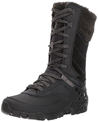 Noir Randonnée Black Aurora de Merrell Waterproof Hautes Tall Chaussures Femme Ice YzgqR4Tn