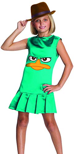 Phineas And Ferb Costumes For Kids (Phineas and Ferb Sassy Agent P. Girls Costume -)