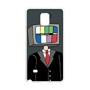 Samsung Galaxy Note 4 Cell Phone Case White_TV MAN FY1558022