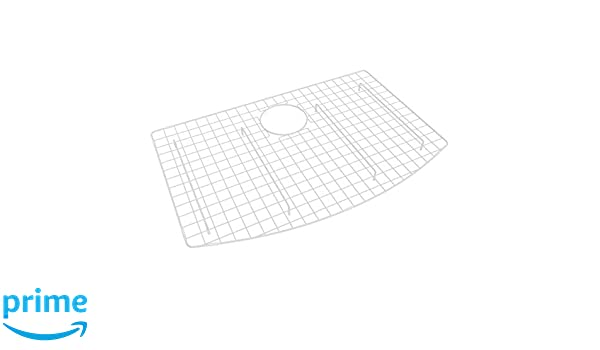 Rohl Wsg3021wh Stainless Steel Kitchen Sink Grid White Amazoncom
