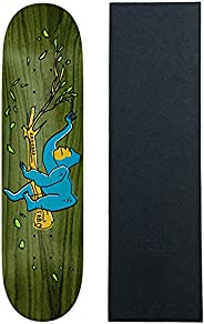 """Krooked Skateboard Deck Sebo Lounging 8.06"""" x 31.8"""" (Assorted)"""