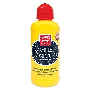 Griot's Garage 10862 Complete Compound 16 oz