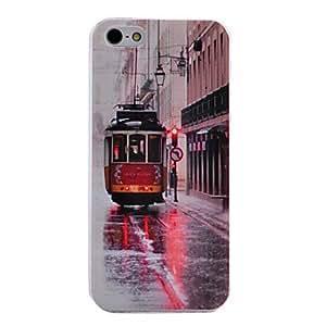 GONGXI-Modelo retro Trolebús nuevo caso para el iPhone 5/5S