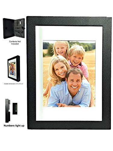 Secure Point Tactical Fortress 1216 - Gun Concealment Picture Frame (12X16) with a Concealed Electronic Lock - (Patent Pending)