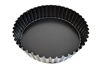 Paderno World Cuisine 47719-24 Deep Non-Stick Removable Base tart pan, 9.5in, Black (B0006BB2NW) | Amazon Products