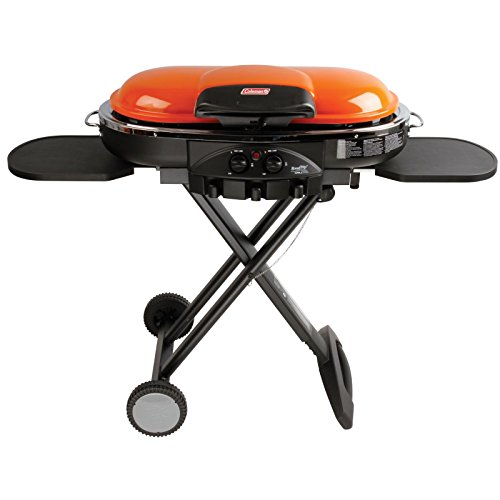 Coleman RoadTrip LXE Portable Propane Grill, Orange (Coleman Portable Griddle)