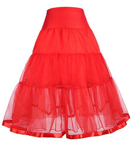 GRACE KARIN Girls Classic Ballet Soft Tulle Tutu Skirt 4-6 yrs 480-3