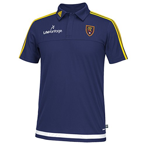 Real Salt Lake Adidas MLS Climacool Authenic On Field Polo Shirt