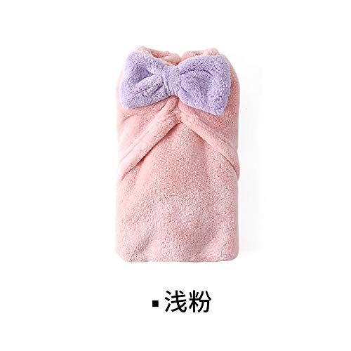 Lazy Corner Absorbent Dry Hair Cap Shower Cap Thickening Coral Fleece Scarf Wipe Dry Towel Turban Baotou Cap 65265 ()