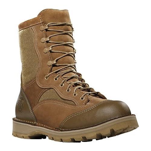 15670X Danner Men's USMC Rat Hot 8IN Uniform Boots - Brown