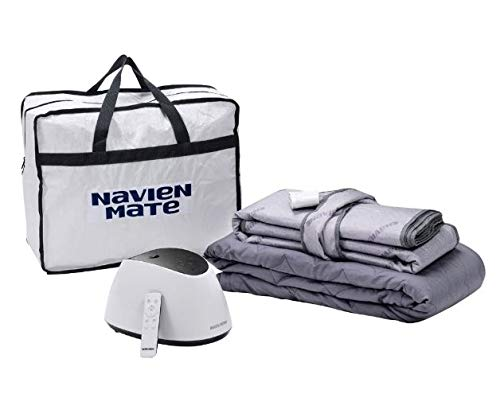 Navien Mate Bed Warmer | Dual-Temp Non-Electric Water Powered Bed Warming Mattress Topper by KD Navien (Twin/Single)