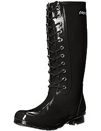 Roma Boots OPINCA Botas de Lluvia con Cordones para Mujer