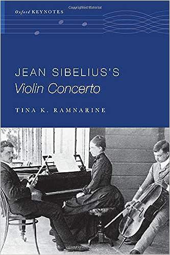Jean Sibelius's Violin Concerto Cover Art