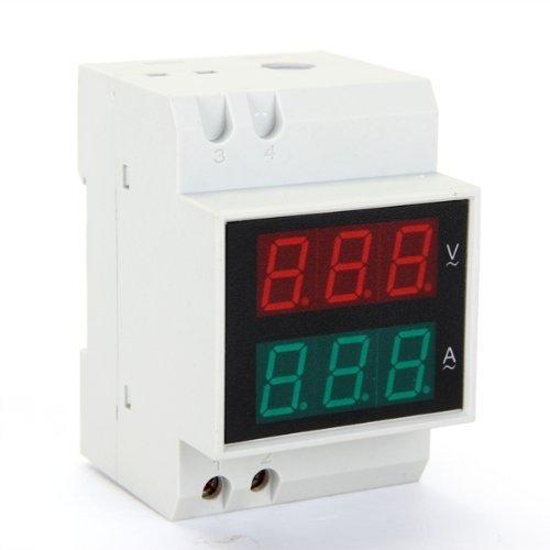96 opinioni per AC Voltmetro Amperometro Misuratore 0,2-99,9A 80-300V Display LED Digitale