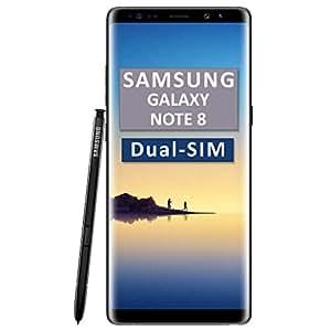 Samsung Galaxy Note 8 SM-N950F/DS Dual-SIM 64GB Factory Unlocked 4G/LTE Smartphone (Midnight Black) - International Version