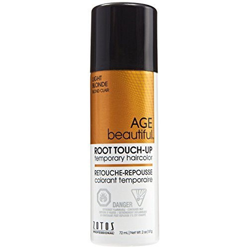 AGEbeautiful Root Touch-Up Sprays Temporary Haircolor Light Golden Blonde by AGEbeautiful by AGEbeautiful