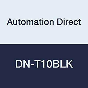 automationdirect dn-t10blk Anschluss single-level Terminal Block, 10 ...