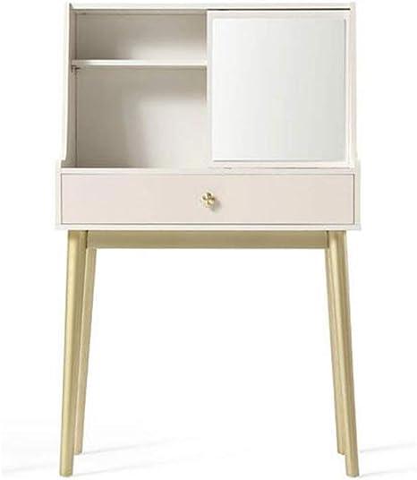 BinLZ-Table Mesa de Tocador Espejo Vestidor Dormitorio Libro Mesa ...