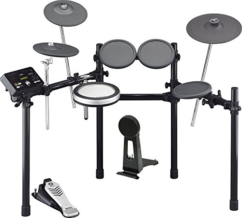 Yamaha DTX522K Customizable Electronic Drum Kit with 3-Zone Textured Silicone Snare -