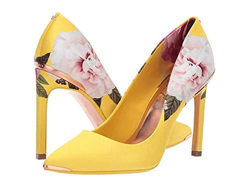 Ted Baker Women's Melnip Pump, Magnificent Yellow 7 Regular US - Designer Shoes Stiletto
