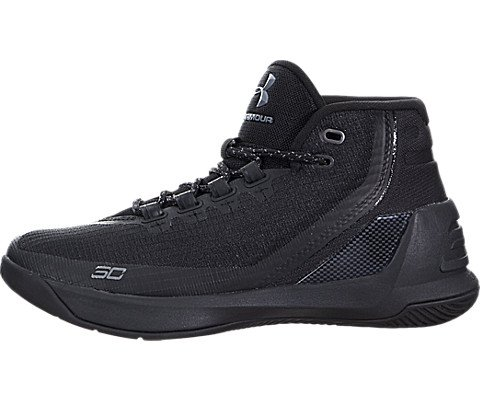 a24eb48ad2d9 Under Armour Boys Grade School UA Curry 3 Basketball Shoes 6 Trifecta Black  by Under Armour