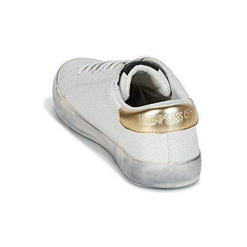 Des Donne Le Sneakers Bianco City Bianco Basse oro Cerises Temps OUqwAp5U1