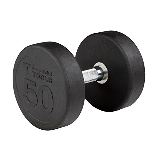 5 lb. Rubber Round Dumbbell
