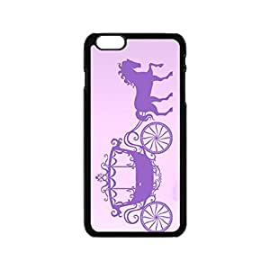 HORSE AND CARRAIGE PRINCESS FAIRY GIRLS cinderellas Inspirational word shell Plastic phone case Cover fit for iPhone 6 case 4.7 inch Loskin customize case