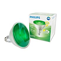 Philips 473736 Led 90W PAR38 Glass Green Non-Dimmable