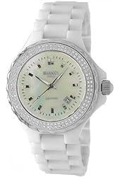 Roberto Bianci Women's H262LWSMOP_WHT Condezza Watch All Ceramic with Sapphire Crystal
