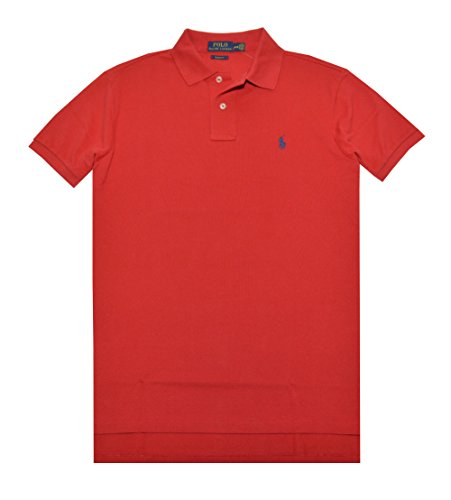 Polo Ralph Lauren Men Custom Fit Pony Logo T-Shirt (XL, RL 2000 Red)