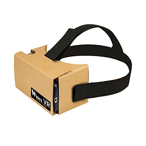 VR Glasses Google Cardboard with Strap 2.0 Virtual Reality 3