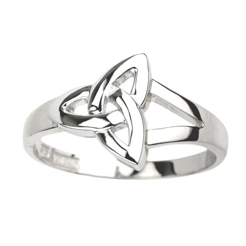 Solvar Trinity Knot Ring Sterling Silver Sz (Celtic Trinity Knot Ring)