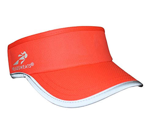 Headsweats Reflective Supervisor, Bright Coral - Triathlon Running Hat