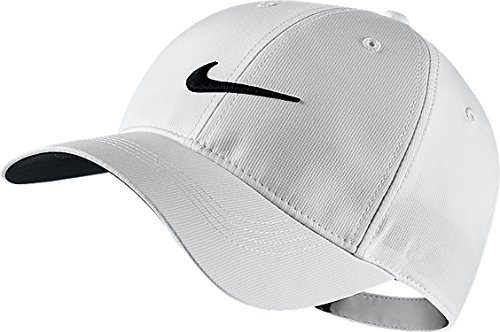 (Nike Golf Unisex Legacy91 Hat,White/Black,One)