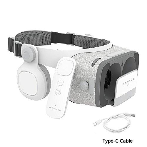 Xiaozhai BOBOVR Z5 Daydream View 3D VR Headset for Samsung Galaxy S9 S8 Google Pixel 2 Daydream Smartphones by Xiaozhai